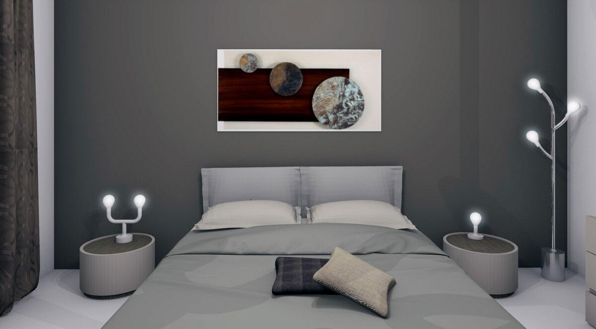 Progettazione camera da letto matrimoniale