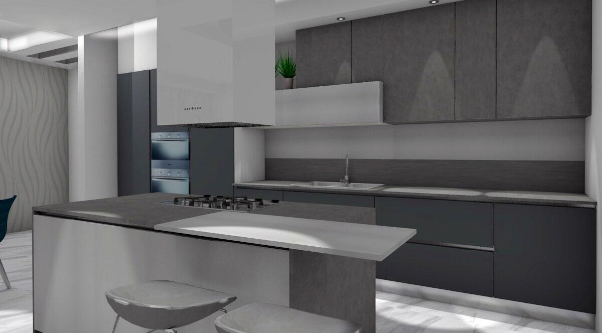 Progettazione angolo cucina