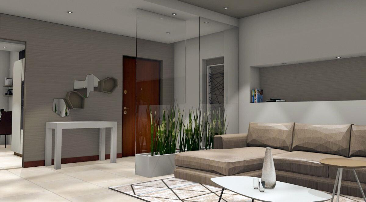 Progettazione zona living 03